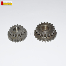 the engine start teeth double connect gear  engine parts for JIANSHE 400 ATV