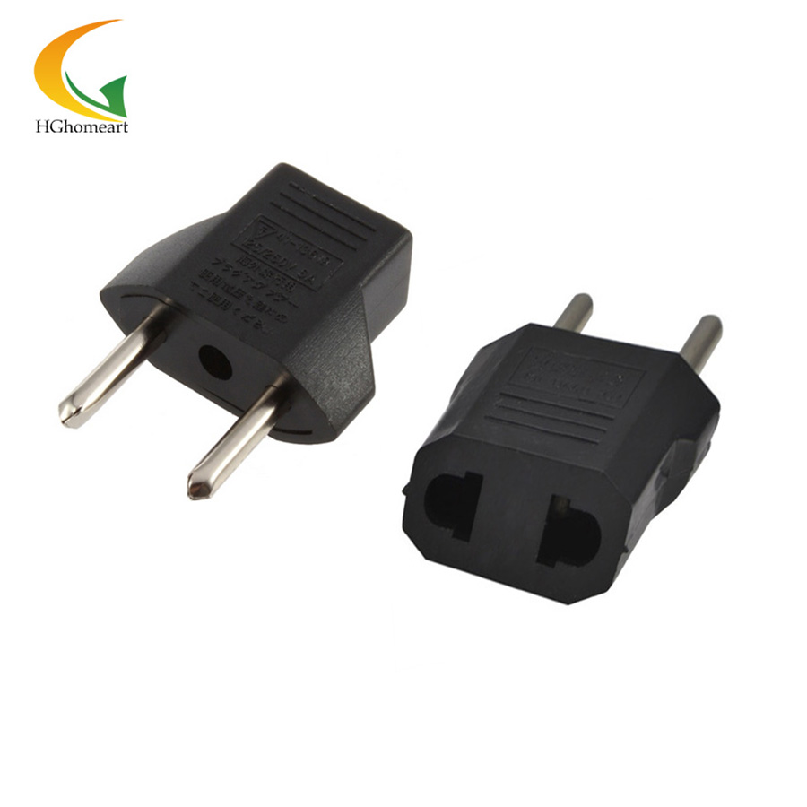 Ac 110v220v 10a Us Au To Eu Plug Adapter 2 Pin Round Wiring A Socket Australia Input Power Charger In Electrical Sockets From Home Improvement On