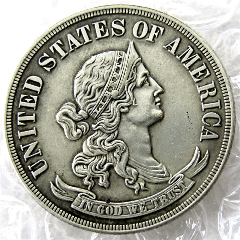 United States 1869 Half Dollars / 50 Cents Copy Coins