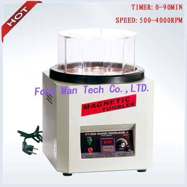 1300g Capacity Jewelers Tools Jewellery Magnetic Tumbler Extra Large Ring Jewelry Polishing Machine