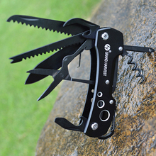 Folding Knife Stainless Steel Multitool Navajas Couteau Pliant Army Pocket Knife
