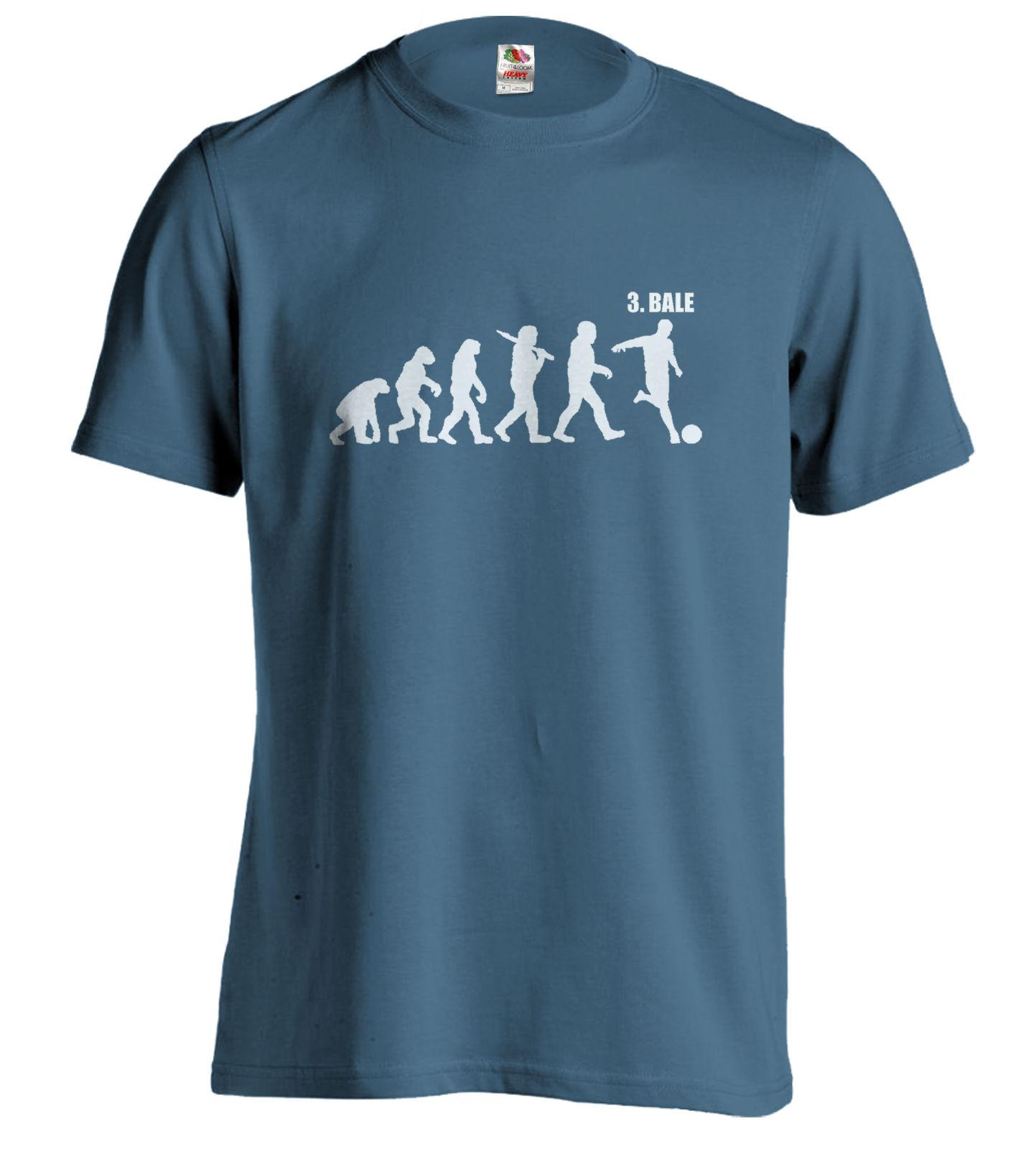 Gareth Bale Tee Spurs Evolution T-Shirt Funny T Footballer Evo Xmas Birthday Gift