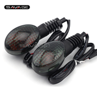 Motorcycle Accessories Front Rear Turn Signal Indicator Lights Blinker For YAMAHA XT660 2004 2012 Smoke