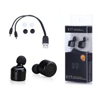 True Wireless Headphones Bluetooth V4 2 Hifi Stereo Wireless Earbuds With Mic For IPhone 7 Plus