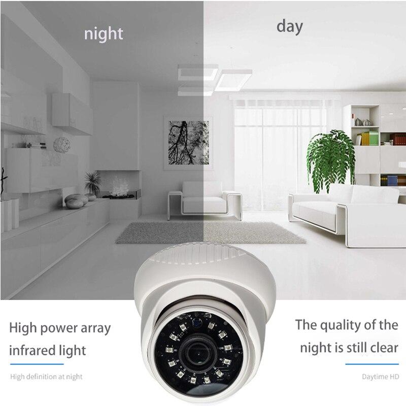 jvtsmart AHD Analog 720P 1080p indoor Camera High Definition Surveillance Infrared Camera AHD CCTV Dome camera Security in Surveillance Cameras from Security Protection