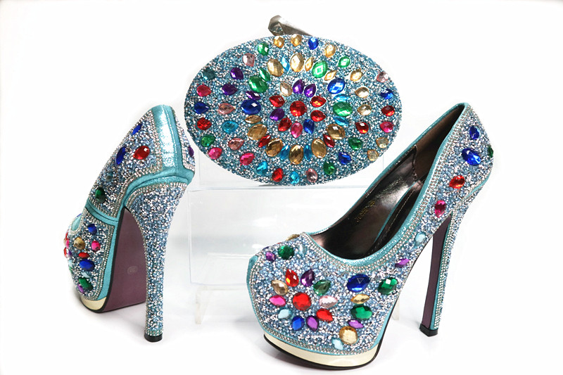 Custom designer italian shoes and bag set 2017 high heel crystal shoes women handbags free shipping no 40 3 red color fo shoes and bag set new summer women s shoes low heel shoes crystal high heel shoes