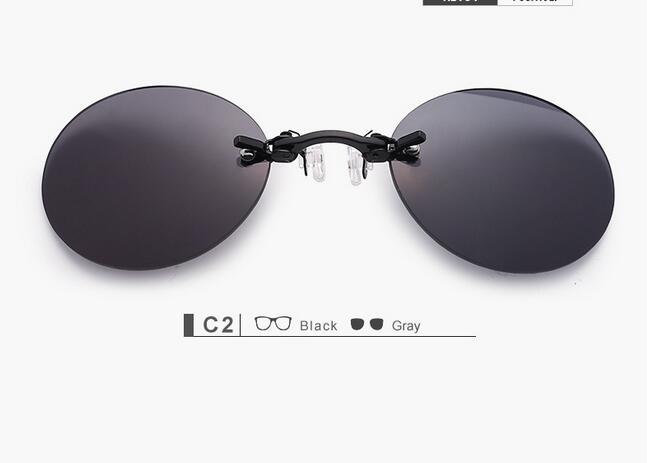 5923ca0e0a086 JN IMPRESSÃO Marca Designer Retro Rodada Clip On óculos Nariz Filme ...