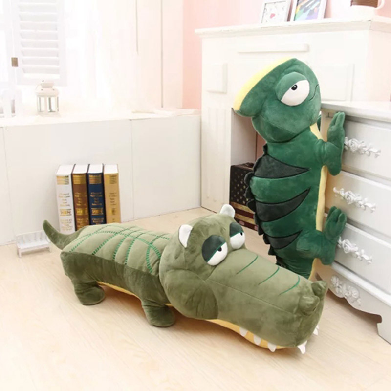 2016 hot sale creative cartoon simulation crocodile and lizard plush stuffed doll toys kid baby boy birthday gift free shipping nematode parasite infesting lizard and their physiological effects