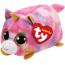 "Ty Teeny Tys 4"" 10cm Star Unicorn Plush Stuffed Animal Collectible Soft Big Eyes Doll Toy with Heart Tag(China)"