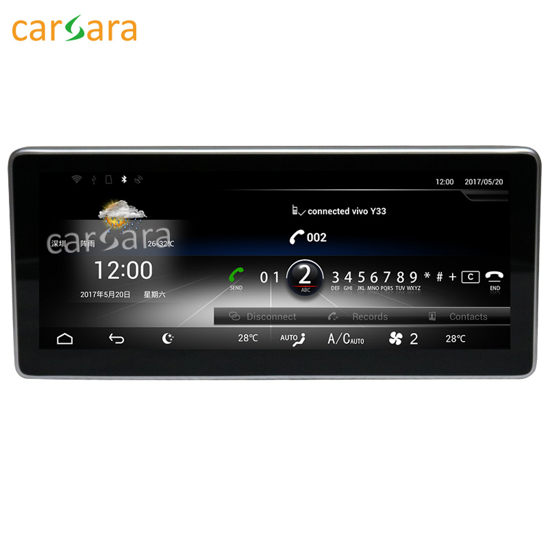 Carsara Android affichage pour Benz classe E W212 2015 10.25