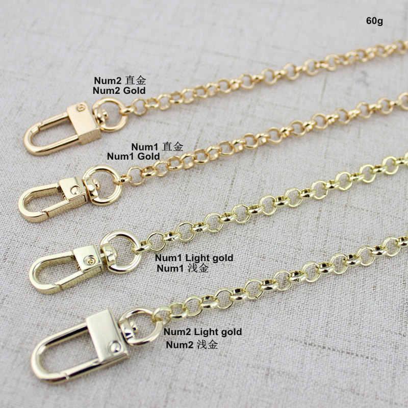 5 шт. 30 шт. 6 мм Металлические Аксессуары цепная сумочка металлический брелок в виде кошелька цепочка с пряжками сумки на плечо ремни