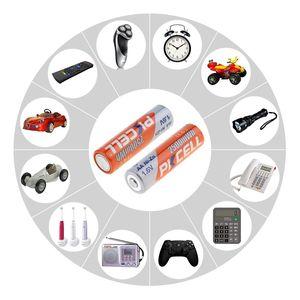 Image 5 - 8 шт./PKCELL NIZN 1,6 V 2500MWH AA Аккумуляторная батарея 2A батареи Baterias Bateria и 2 шт. батарейный ящик