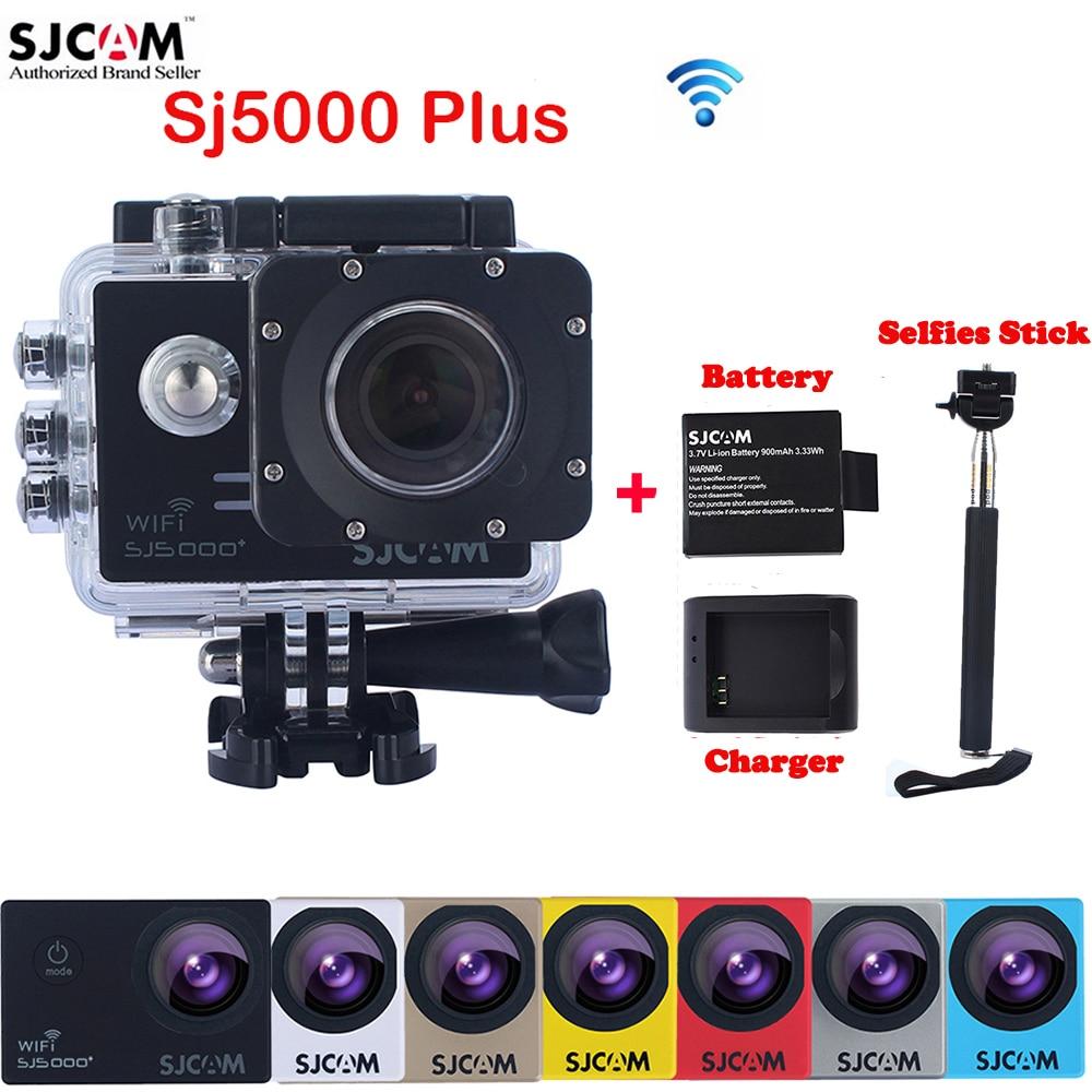 Original SJCAM SJ5000 Plus WiFi 30M Waterproof Sports Action font b Camera b font Sj 5000