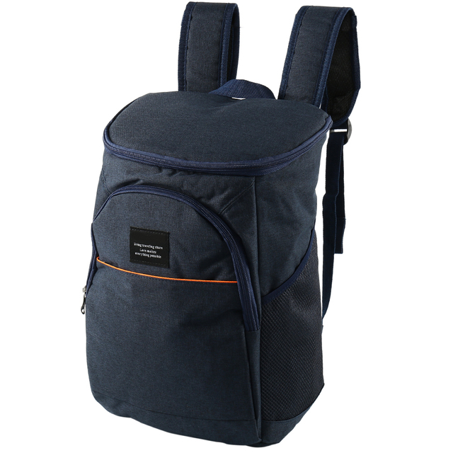 d8fcd8004a Big large thick thermal cooling backpack family picnic food storage bag  insulated organizer