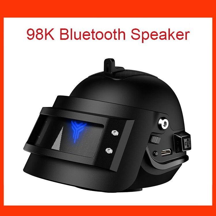 Nouveau altavoz haut-parleur Bluetooth sans fil parlante bocina enceinte glosnik basse Subwoofer Woofer Carro métal casque à trois niveaux