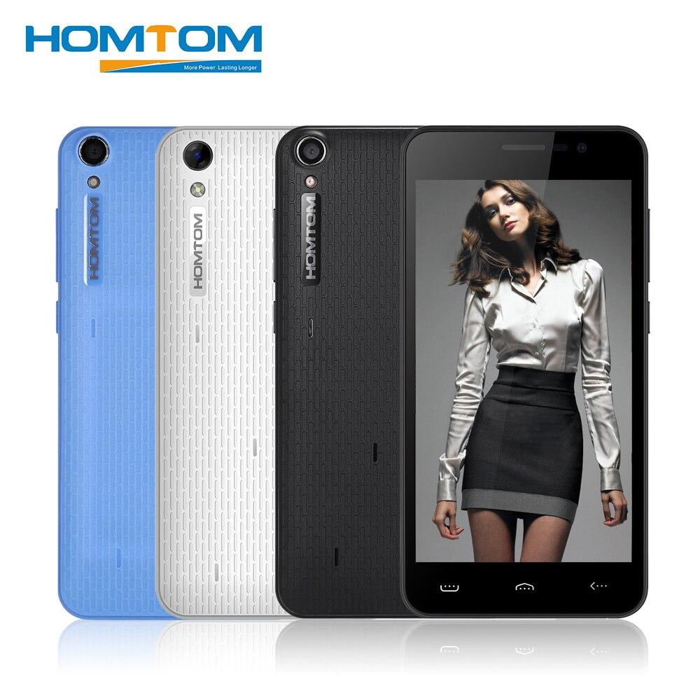 bilder für HOMTOM HT16 PRO 5,0 zoll 4G Handy Android 6.0 MTK6737 Quad Core 1,3 GHz 2 GB RAM 16 GB ROM 13.0MP 5.0MP Kameras Smartphone