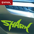 Motorcycle Shark car reflective stickers personalized car modification scratch blocked creative decorative stickers ,car styling
