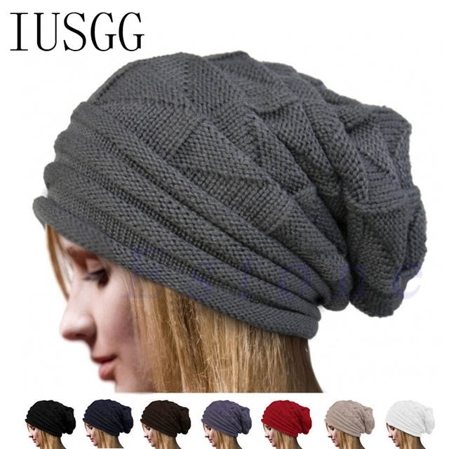 361b3f0f3de Online Shop Christmas Pleated Men s Skullies Hat Bonnet Winter Beanie  Knitted Wool Hat Plus Cap Thicker Mask Fringe Ski Sports Beanies Hats