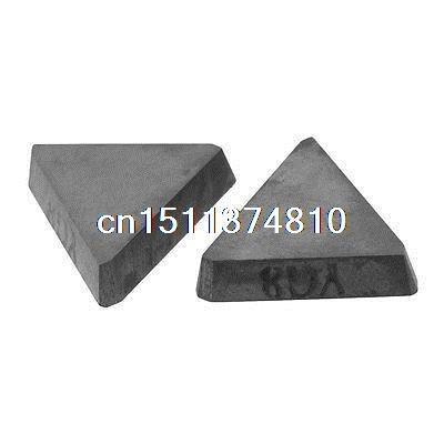 2 x Cutting Tool Triangular Hard Alloy Cemented Carbide Inserts Cutter Tip hot selling internal grooving inserts cutter tool holder dgtr2020 2t18 for iscar carbide insert dgn2002