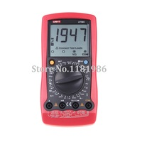 UNI T UT58C Ammeter Multitester DMM Digital Multimeters DC/AC Voltage Current Resistance Capacitance Tester Data Hold
