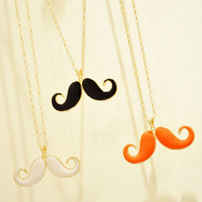 Special Korean Jewelry Avanti Concave Shape Beard Necklace Long Necklace Sweater Chain Choker Long Necklace