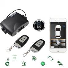For Audi Smartphone Remote Car Alarm System Central Lock Ios/Android Mobile App Open Trunk PKE Engine Keyless Start Stop Kit