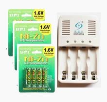 12Pcs NiZn Ni Zn 1 6V AA 2500mWh Rechargeable Battery NiZn font b smart b font