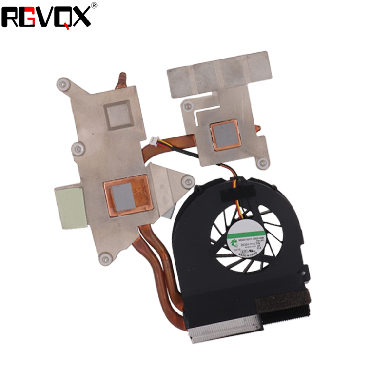 NEW Laptop Cooling Fan For Acer Aspire 5738 5738G 5738ZG 5536 5542 Heatsink PN: 60.4CG21.003 MG55150V1-Q000-G99 Cooler/Radiator fr french laptop replacement keyboard for acer as5810t 5410t 5536 5536g 5738 black