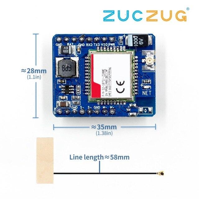 SIM7020 SIM7020E פיתוח לוח B1/B3/B5/B8/B20/B28 LTE NB IoT SMT סוג M2M מודול במקום SIM800C