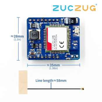 SIM7020 SIM7020E development board B1/B3/B5/B8/B20/B28 LTE NB-IoT SMT type M2M module instead SIM800C - DISCOUNT ITEM  1% OFF All Category