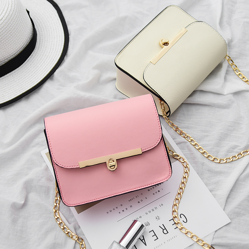 Free shipping, 2017 new retro women handbags, fashion simple flap, trend Korean version shoulder bag, chain woman messenger bag. yuanyu 2018 new hot free shipping import crocodile women chain bag fashion leather single shoulder bag small dinner packages