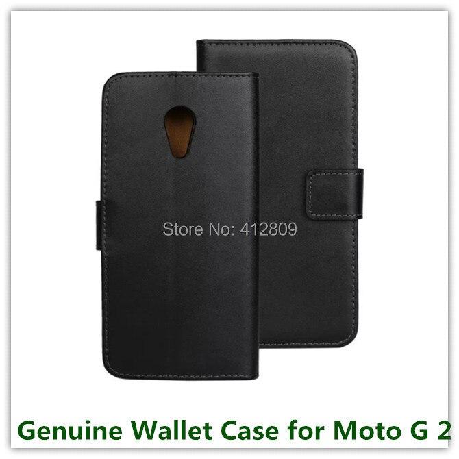 1PCS módní zadní pravé kožené pouzdro skládací peněženka kožené pouzdro pro Motorola Moto G2 XT1069 s držitelem průkazu