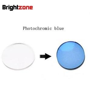 Image 1 - Superb Quality Rx Lenses 1.56 Photochromic Blue HMC UV AR CR39 resin eyeglasses prescription lenses only for myopia /astigmatism