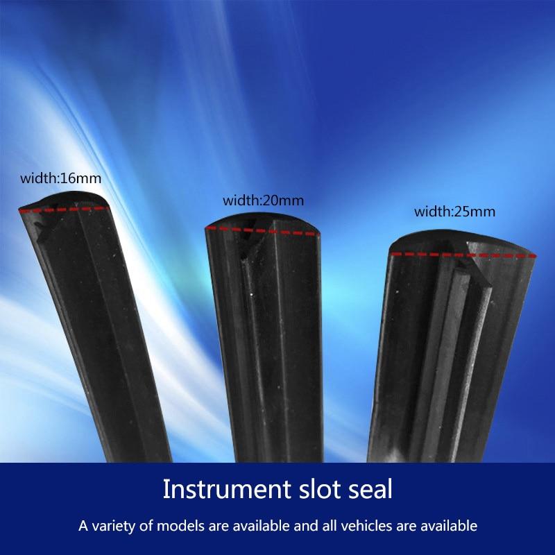 1.6m Car Windshield Dashboard Sealing Strip Noise Soundproof Anti Dust Seal Trim