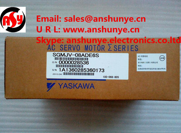 NEW YASKAWA AC Servo Motor SGMJV-08ADE6S ,BRAND-NEW IN ORIGINAL PACKAGING dhl ems 1pcs sgmph 01a1agb81 original for yaskawa servo motors