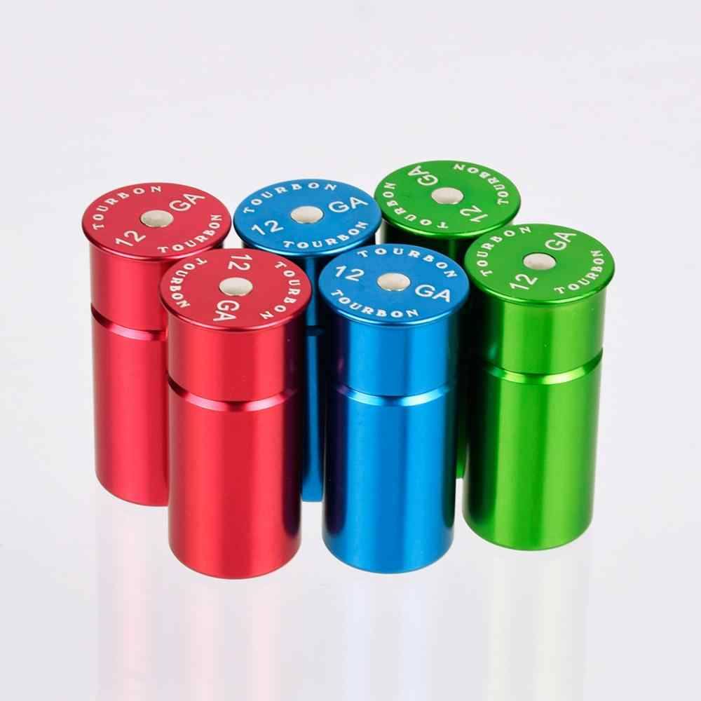 2pcs Aluminum Hunting 12 Gauge Shooting Snap Caps Ammo Shells Tactical 12GA Training Reusable Recycled Dry Firing
