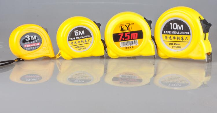 Automatic Telescopic Stainless Steel Tape Measures 3M 5M 7.5M 10M