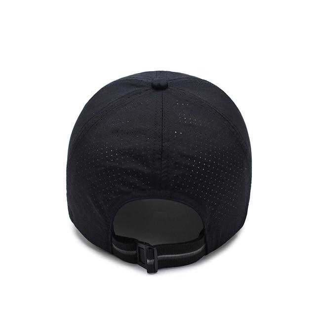 16d31e4011c ...  AETRENDS  Men Women 2017 Summer Snapback Quick Dry Mesh Baseball Cap  Sun Hat Bone ...