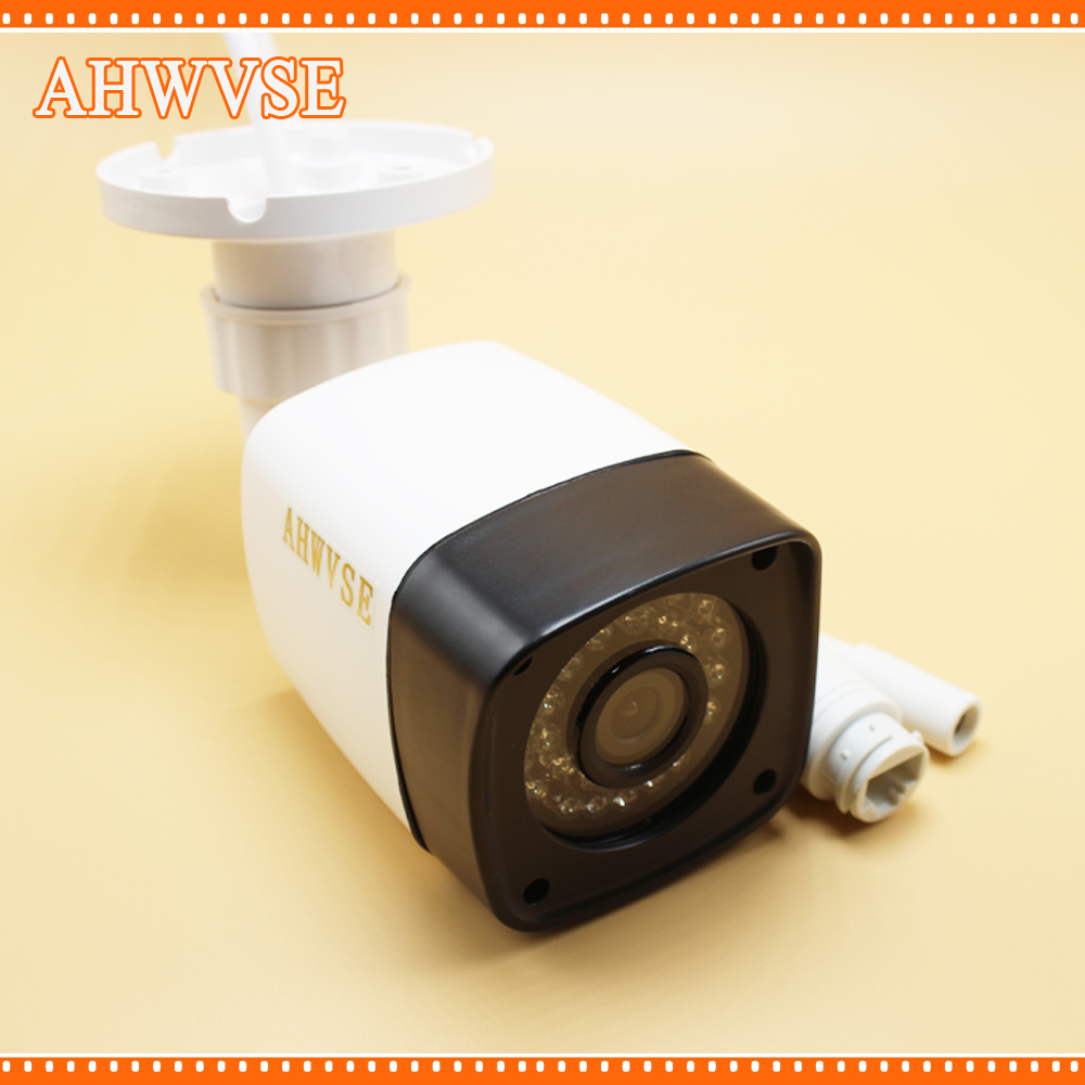 AHWVSE Full HD PoE Camera 48V PoE IP Camera 720P 960P 1080P IP Camera PoE Outdoor Bullet Security 2MP Camera ONVIF 2.0 IP66 full hd poe camera 48v poe ip camera 720p ip camera poe outdoor bullet security camera onvif