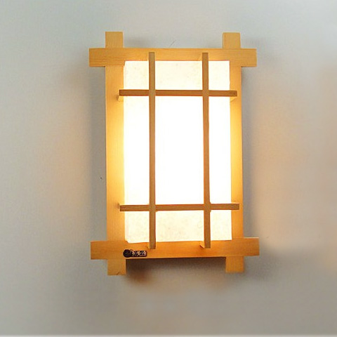 New chinese style solid wood japanese style wall lamp ofhead lamps new chinese style solid wood japanese style wall lamp ofhead lamps cubicity stair wall lights aloadofball Images