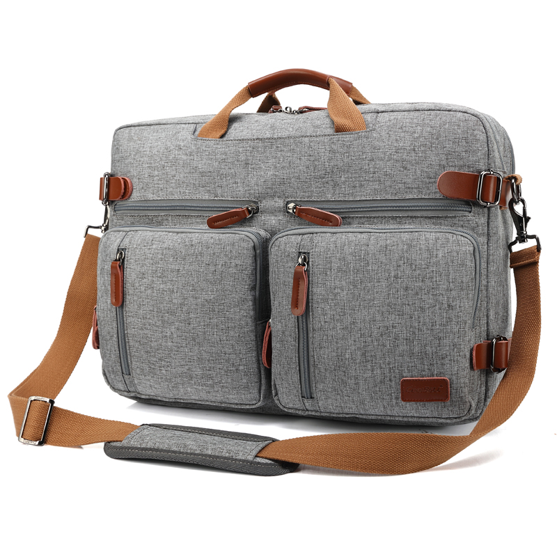 15 6 17 3 Inch Men Backpack Messenger Bag Handbag Laptop Bags Briefcase Multifunction Travel mochila