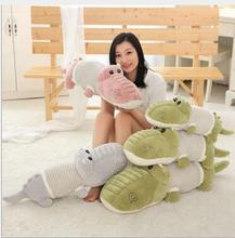 WYZHY Down cotton soft crocodile pillow doll plush toy to send friends and children 90CM