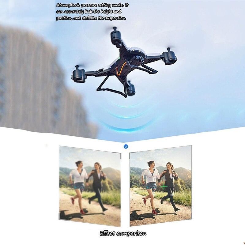 Hélicoptère rc Drone avec Caméra HD 1080 P WIFI FPV Drone selfie Professionnel Pliable quadrirotor 20 Minutes Autonomie de la batterie - 4