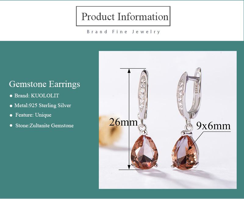 HTB15df6JYvpK1RjSZPiq6zmwXXaF Kuololit Zultanite Gemstone Clip Earrings for Women Solid 925 Sterling Silver Created Color Change Earrings Wedding Fine Jewelry