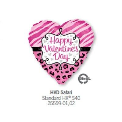 5pcs Lot Anagram Happy Valentine S Day Safari Foil Balloons Party