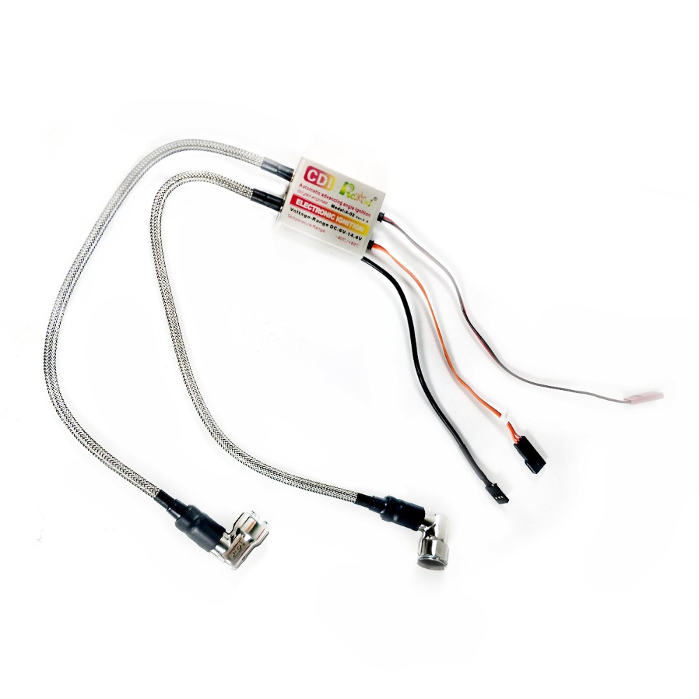 1 шт. 3 Вт система зажигания двигателя Rcexl электронное двойное зажигание с датчиком Холла комплект для CM6 Spark 10 мм 90 градусов