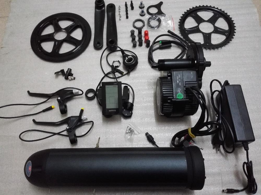 8fun bafang bbs02 750w 48v mid crank drive motor electric for Mid motor electric bike