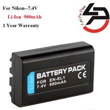 Высокое качество 900 мАч Фирменная Новинка Замена Батарея для Nikon EN-EL1 ENEL1 NP800 NP-800 E880 775 4300 4500 4800 5000 5400 5700