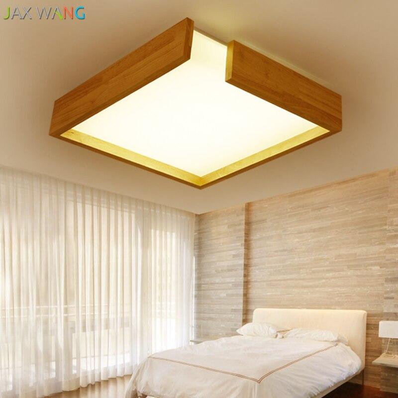 Living Room Lamp Sizes: Custom Size Wooden Pendant Lamps Glass Chandelier Bedroom