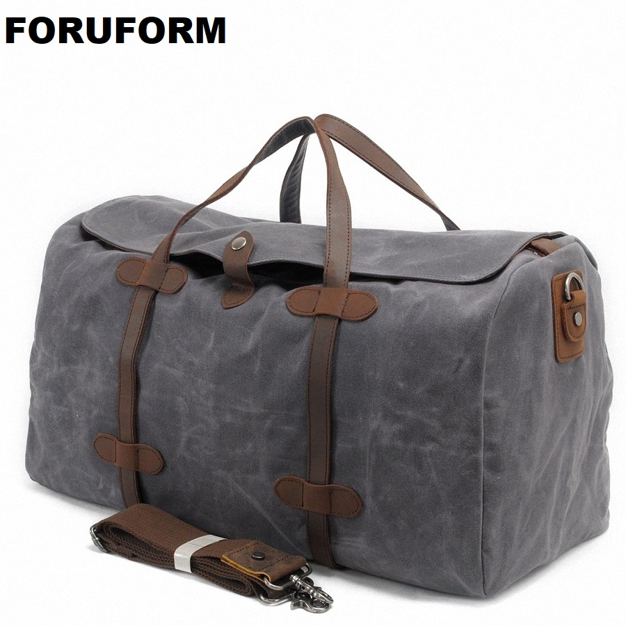 Male Large Capacity Travel Bag Men Carry On Luggage Duffle Bag Women Waterproof Canvas Weekend Bags Overnight Bolas Tote LI-1256
